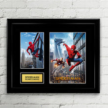 Spider-Man Homecoming Reprint Autograph - Signed Poster Art Print Artwork - Feat. Robert Downey Jr (Iron Man), Tom Holland (Spiderman)