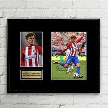 Antoine Griezmann - Signed Poster Art Print Artwork - Atletico Madrid