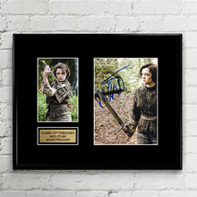 Arya Stark  - Maisie Williams - Autograph Signed Poster Art Print Artwork - Game of Thrones