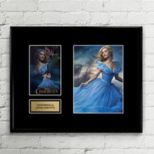 Cinderella Movie - Annie Leibovitz - Disney Princess Autograph Signed Poster Art Print Artwork