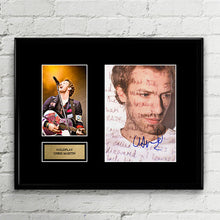 Coldplay Chris Martin - Autograph - Grammy Signed Poster Art Print Artwork