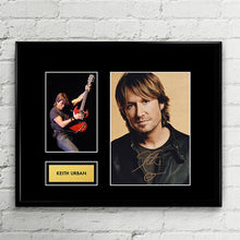 Keith Urban - The Fighter - Autograph - Signed Poster Art Print Artwork - Grammy Billboard