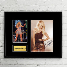 Carrie Underwood - The Fighter - Autograph - Signed Poster Art Print Artwork - Grammy Billboard