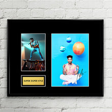 Super Duper Kyle Hip Hop Rapper - Autograph - Signed Poster Art Print Artwork - Grammy Billboard