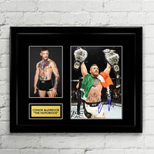 "Conor McGregor - ""The Notorious"" UFC MMA Fighter - Signed Poster Art Print Artwork - Ultimate Fighting Championship"