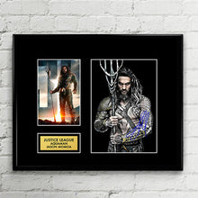 Aquaman Jason Momoa - Autograph Signed Poster Art Print Artwork