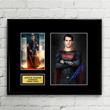 Superman - Henry Cavill - Justice League Autograph Signed Poster Art Print Artwork