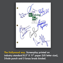 Breaking Bad - TV Pilot Signed Autographed Screenplay - Bryan Cranston - Aaron Paul - Walter White - Jesse Pinkman