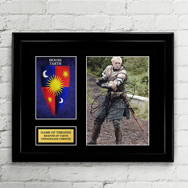 Brienne of Tarth - Gwendoline Christie - Autograph Signed Poster Art Print Artwork - Game of Thrones