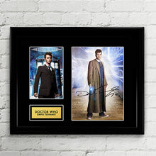 Doctor Who - Dr Who David Tennant - Autograph Signed Poster Art Print Artwork - Tenth 10th Doctor Who