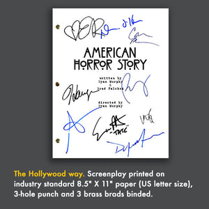 American Horror Story Tv Script Screenplay