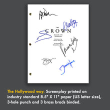 The Crown TV Script Episode Screenplay - Signed Autograph Reprint - Claire Foy, Matt Smith, Vanessa Kirby, Pip Torrens, John Lithgow