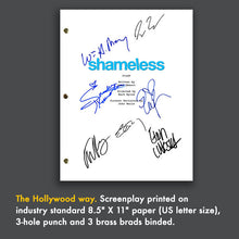 SHAMELESS TV Script Pilot Episode Screenplay Signed Autograph Reprint - William H Macey, Emmy Rossum, Ethan Cutkosky, Frank Fiona Gallagher