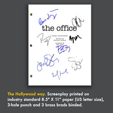 The Office Tv Show Script Episode Screenplay - Signed Autograph Reprint Steve Carell, Michael Scott, Rainn Wilson, Dwight Schrute