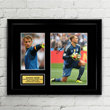 Manuel Neuer - Germany National Football Team - Fifa World Cup 2018 Signed Poster Art Print Artwork - Marco Reus