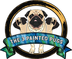 The 3 Painted Pugs