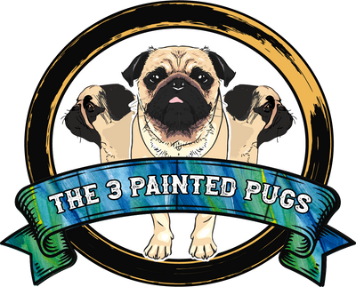 The 3 Painted Pugs featuring Annie Sloan, General Finishes, The Real Milk Paint Co., Scrubby Soap, custom refinishing, workshops, chalk paint