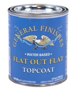 General Finishes Water Based Topcoats