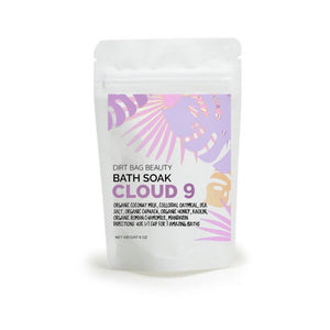 Cloud 9 All Natural Bath Soak - DIRT BAG® BEAUTY