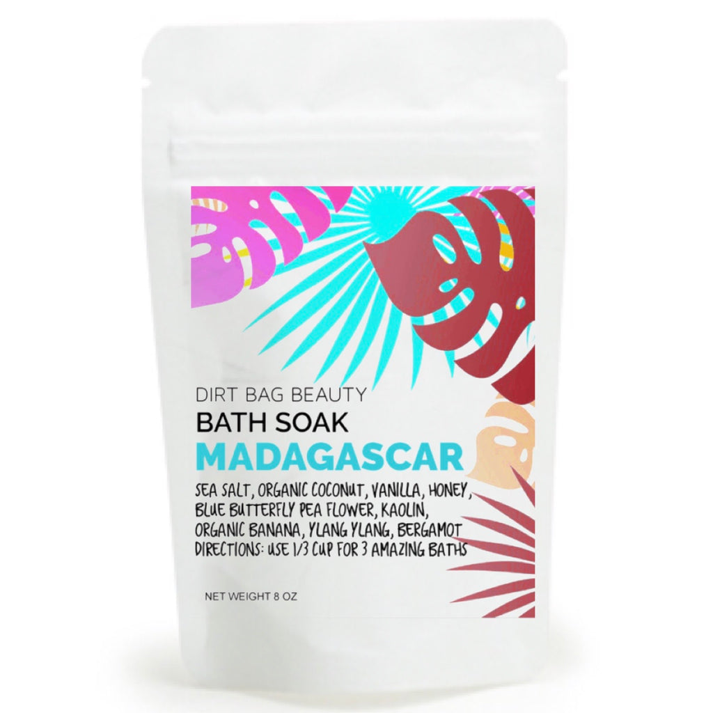 Madagascar All Natural Bath Soak - DIRT BAG® BEAUTY