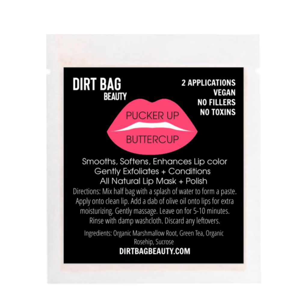 Pucker Up Buttercup Lip Mask + Polish