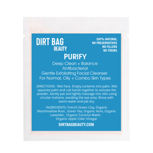 Purify Exfoliating Vegan Cleanser - DIRT BAG® BEAUTY