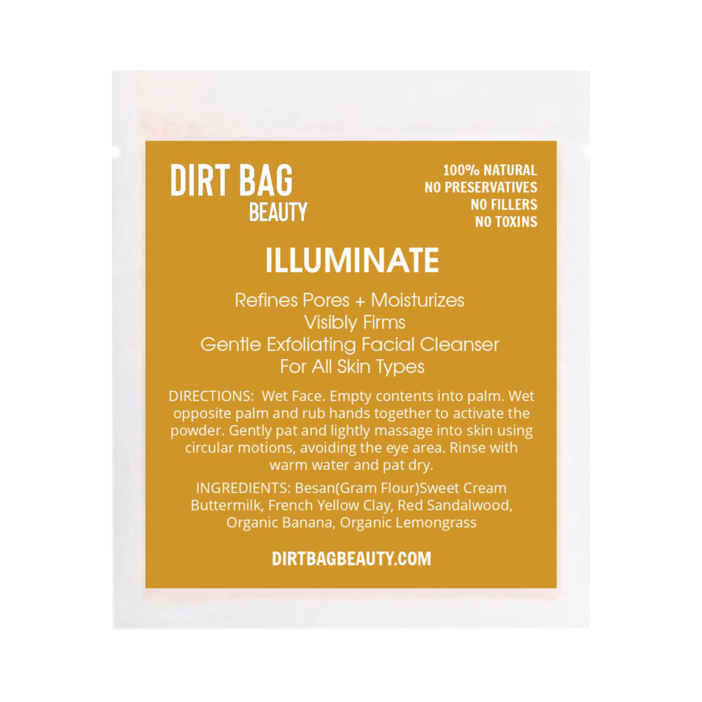 Illuminate Exfoliating Cleanser - DIRT BAG® BEAUTY