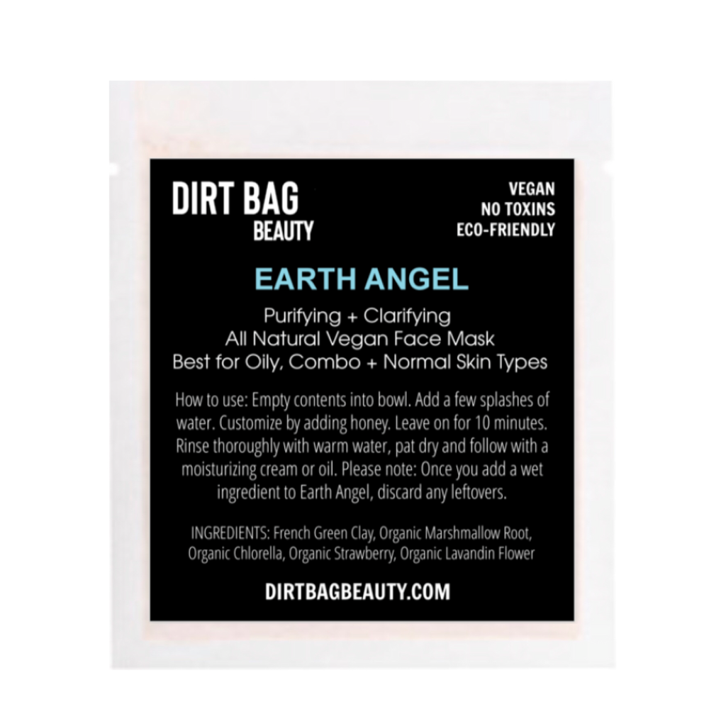 Earth Angel Vegan Facial Mask - DIRT BAG® BEAUTY
