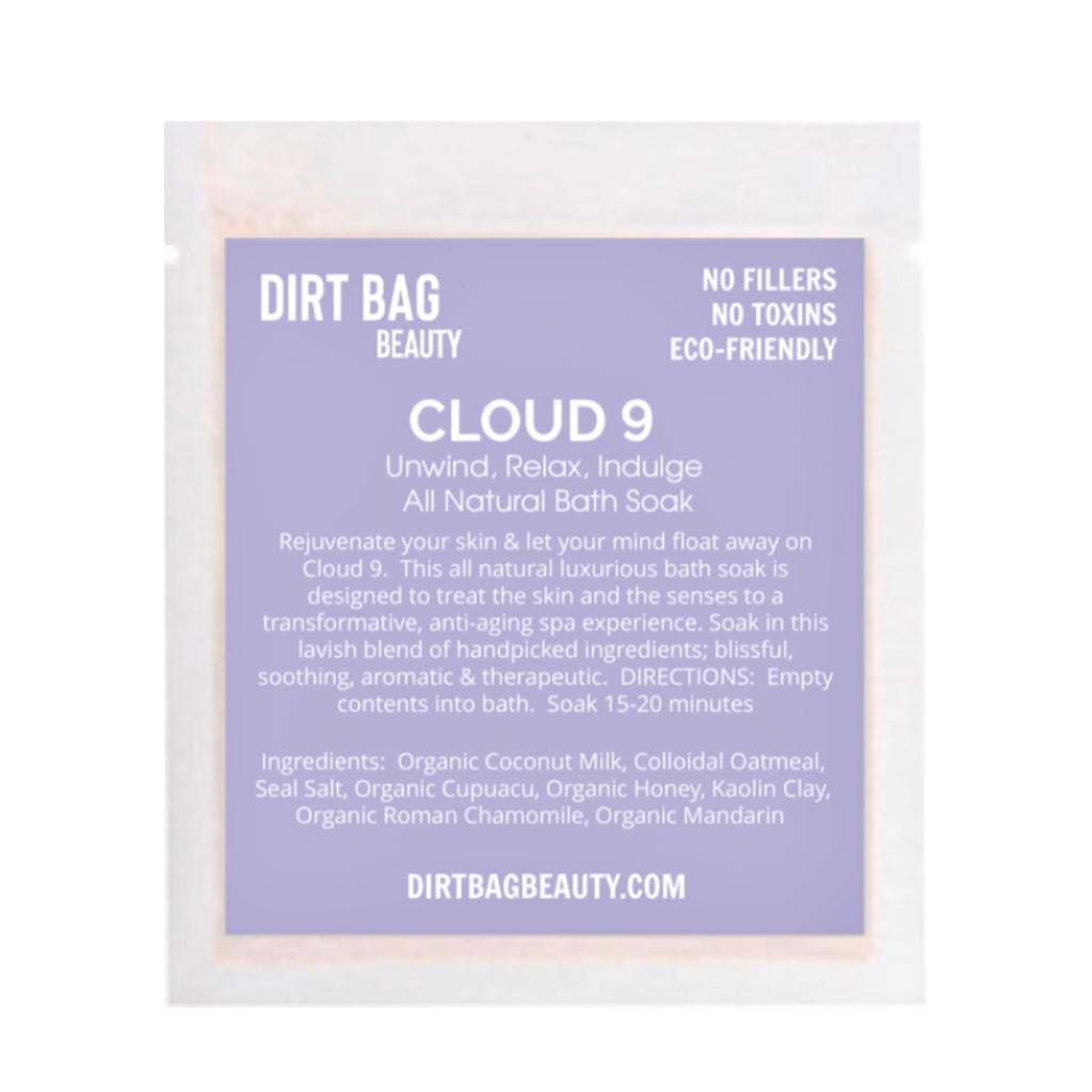 Cloud 9 Bath Soak Single use