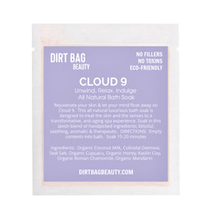 NEW! Cloud 9 Bath Soak Single use