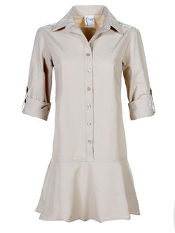 Finley Elizabeth Drop Waist Shirtdress