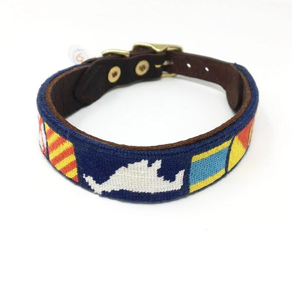 Good Threads Dog Collar, Blue MVY, L