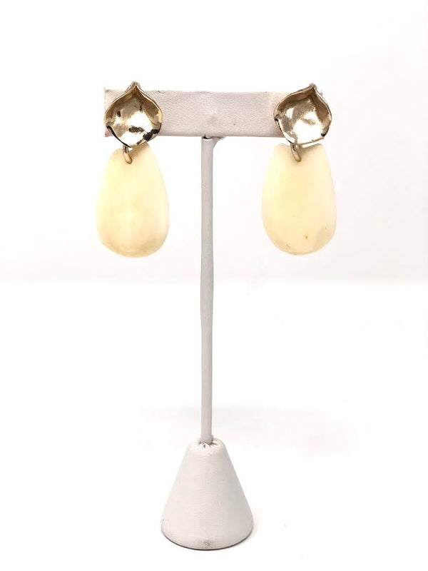 Sylvia Benson Bone James Earrings