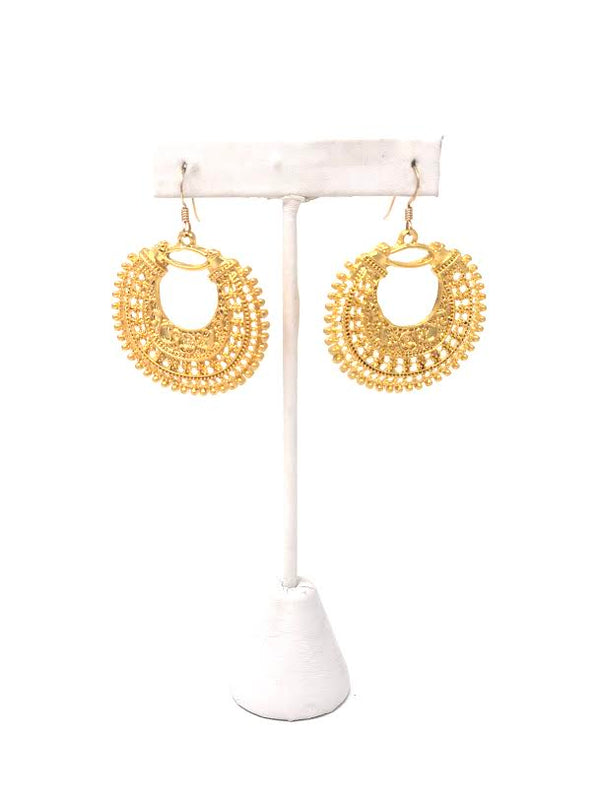 Designs by Ali Filigree Chandelier Earrings