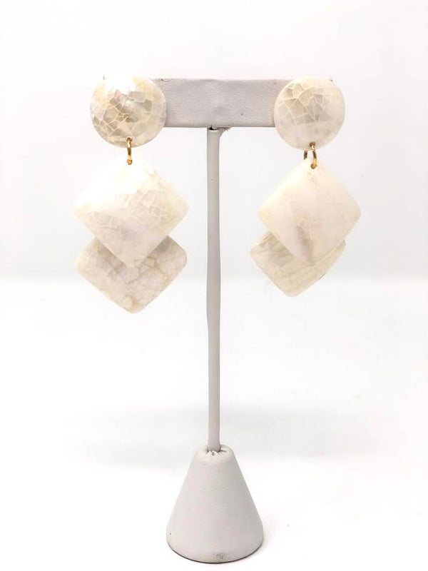 Sylvia Benson Opaline Earrings