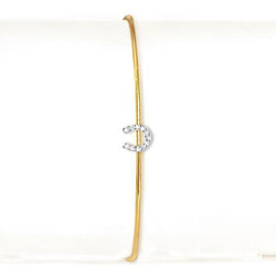 La Soula Little Horseshoe Lucky Bangle