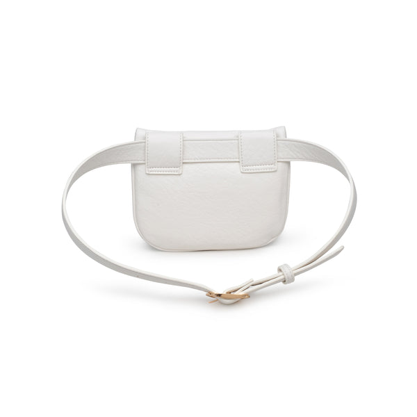 Moda Luxe Belt Bag - White