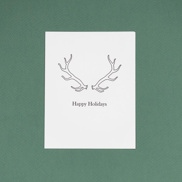 Antlers Card