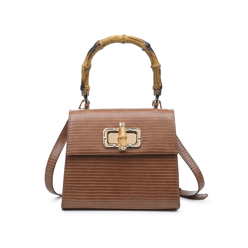 Moda Luxe Bamboo Handle Crossbody