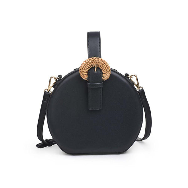Millie Small Top Handle Crossbody - Black