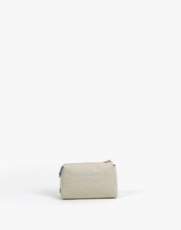 Neely and Chloe No. 30 The Small Canvas Pouch