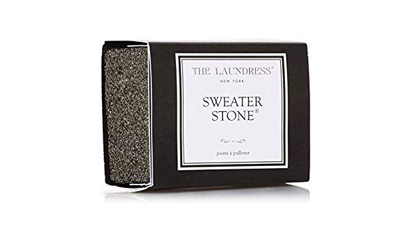 The Laundress Sweater Stone, Black, O/S