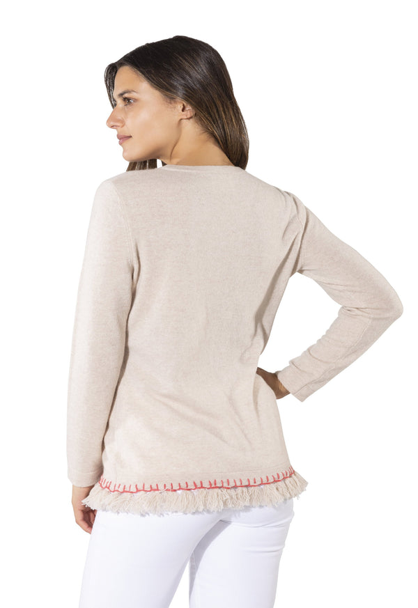 Sail to Sable Tassel Sweater