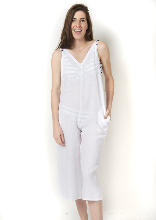Fresh Laundry Linen Jumpsuit