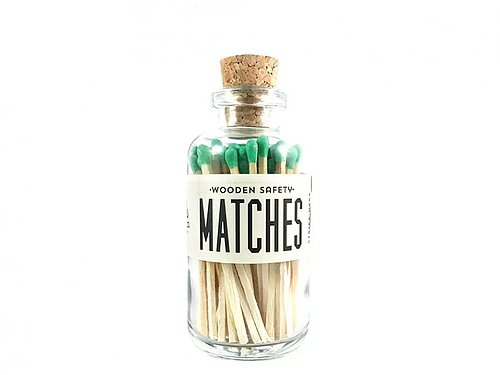 Made Market Co Mini Matches - Green