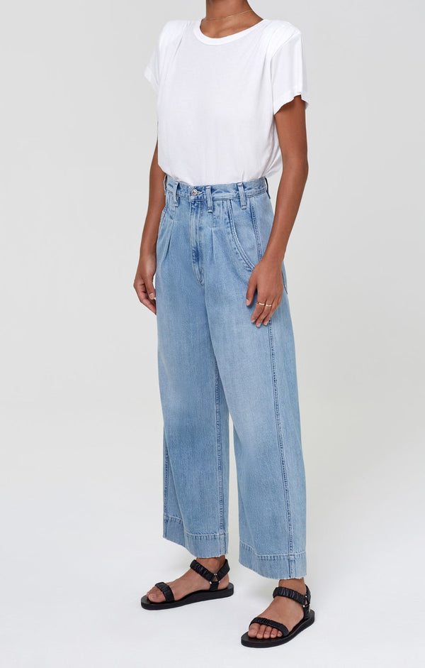 Citizens of Humanity Elena Pleated Wide Leg Pant