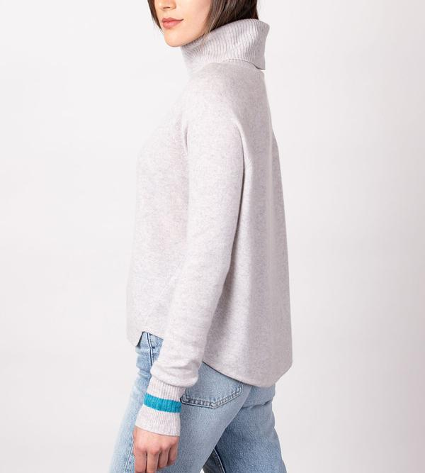 Duffy Lo-Hi T-Neck Pullover
