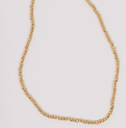 Half United Golden Nectar Necklace