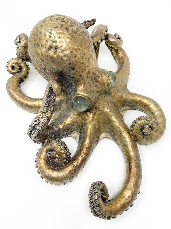 Contrast Inc Medium Gold Leaf Octupus