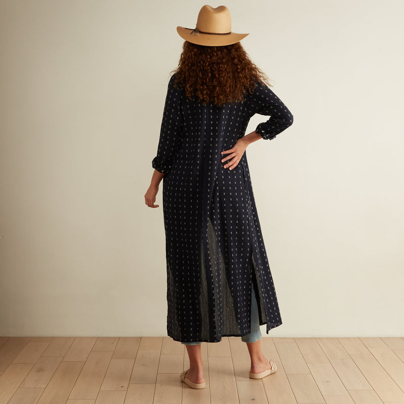 The Odells Voyage Caftan Maxi Dress